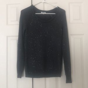 Dark grey sparkly sweater!